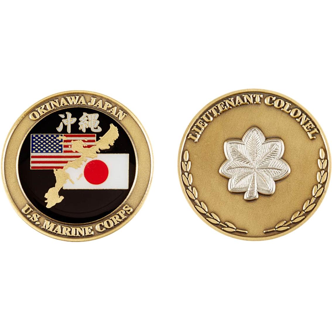 Challenge Coin Usmc Lieutenant Colonel Coin Coins Medallions