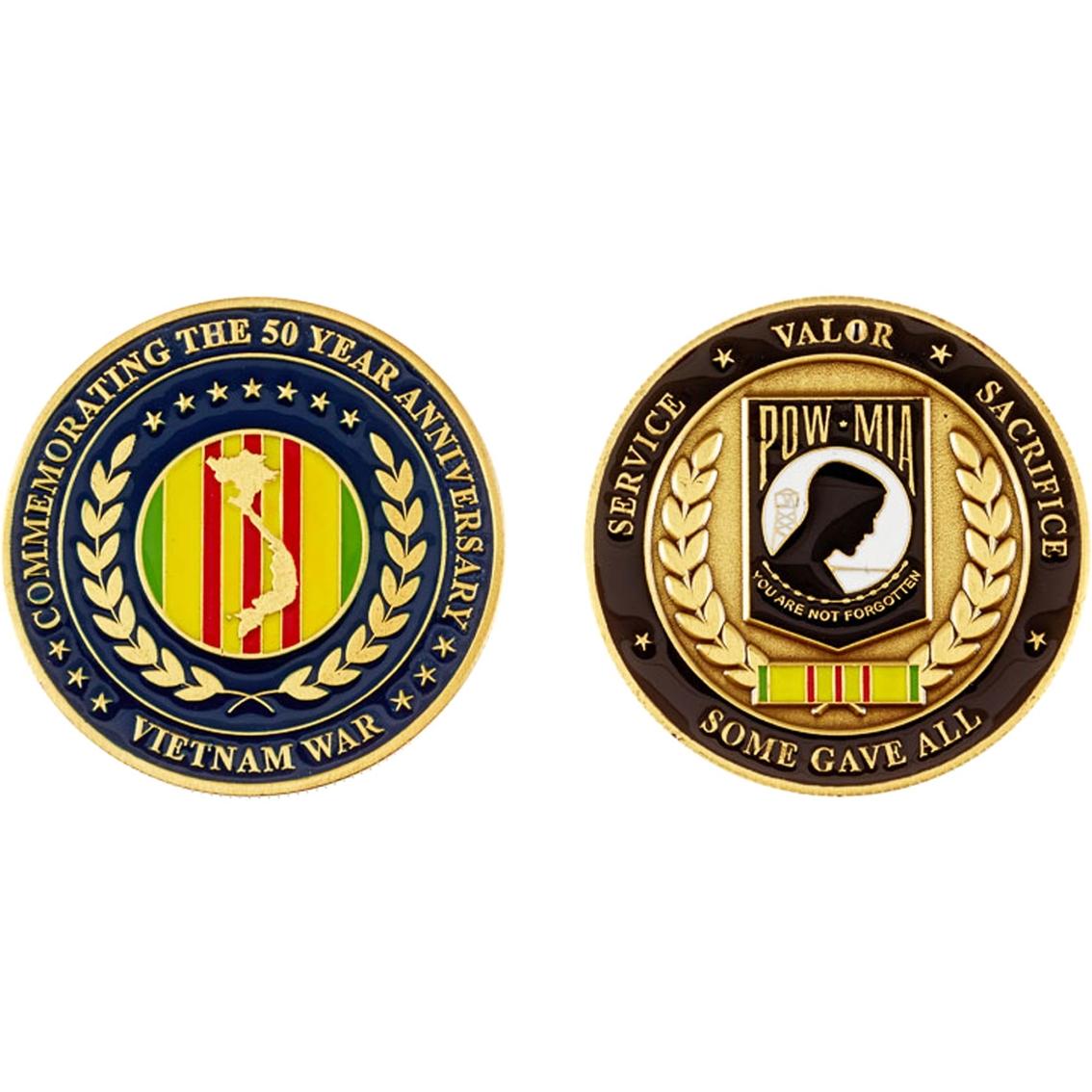 Challenge Coin 50th Anniversary Vietnam War | Coins & Cases