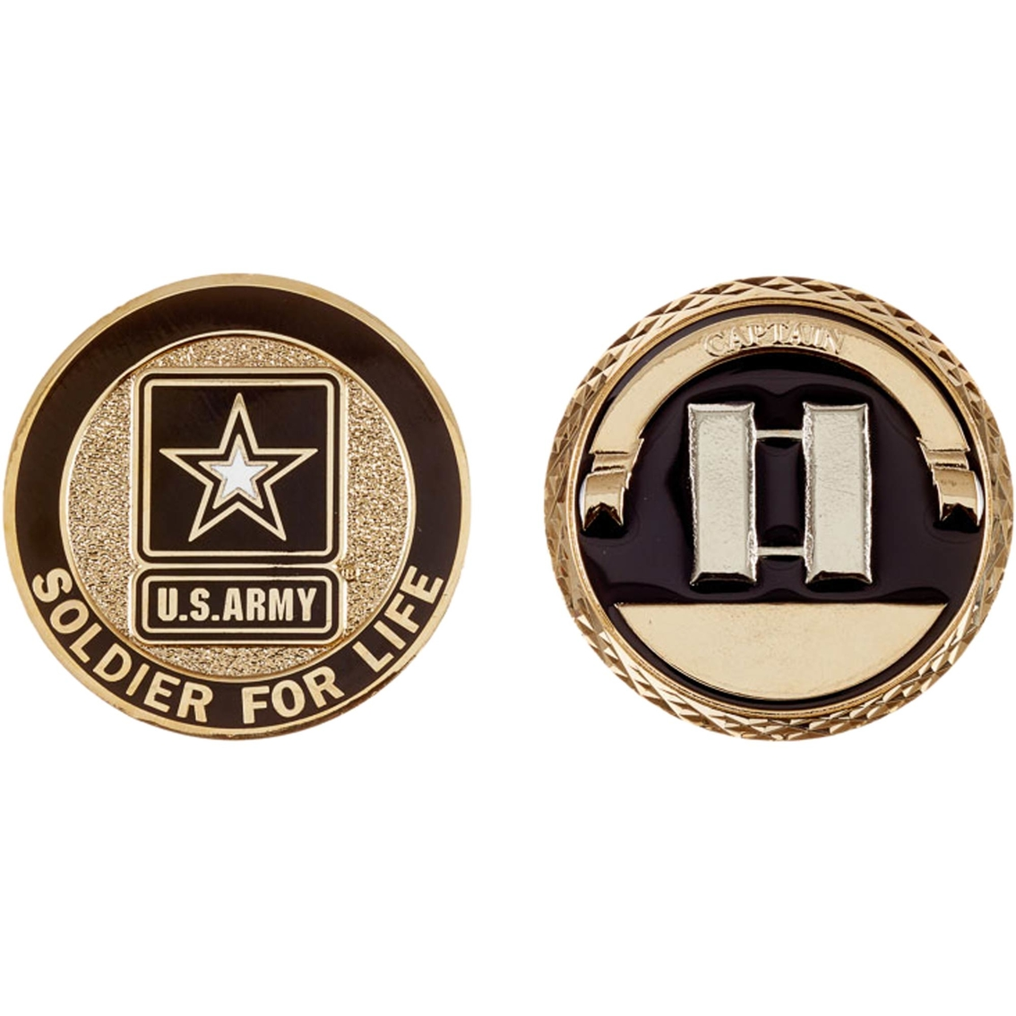 Challenge Coin Army Rank Captain Coin Coins Medallions Gifts
