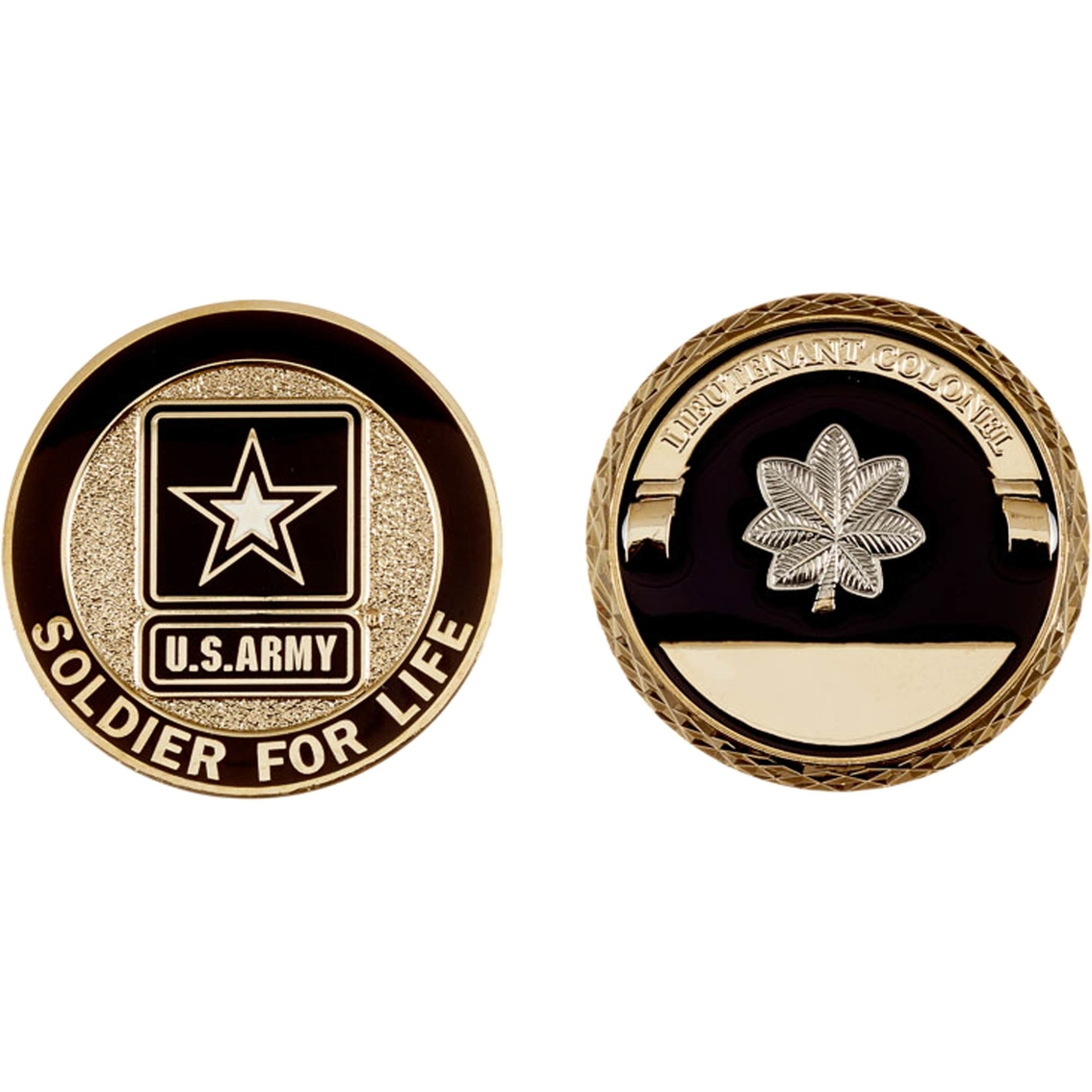 Challenge Coin Army Rank Lieutenant Colonel Coin Coins
