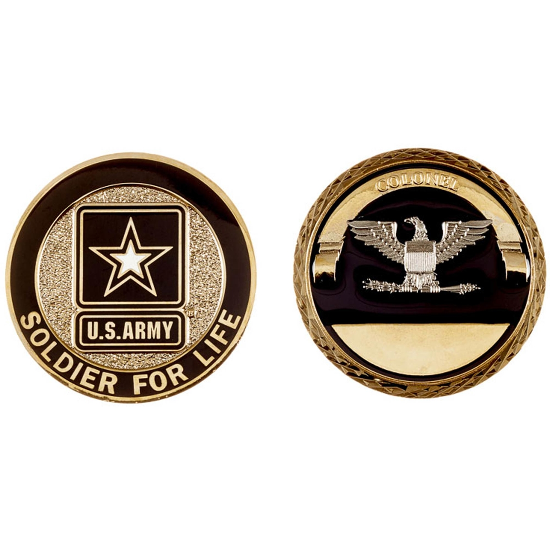 Challenge Coin Army Rank Colonel Coin Coins Medallions Gifts