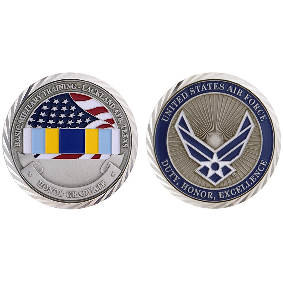 Challenge Coin Lackland Honor Graduate Coin | Coins & Cases
