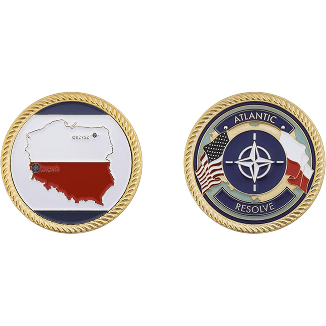Challenge Coin Army Atlantic Resolve Poland Coin | Coins & Cases