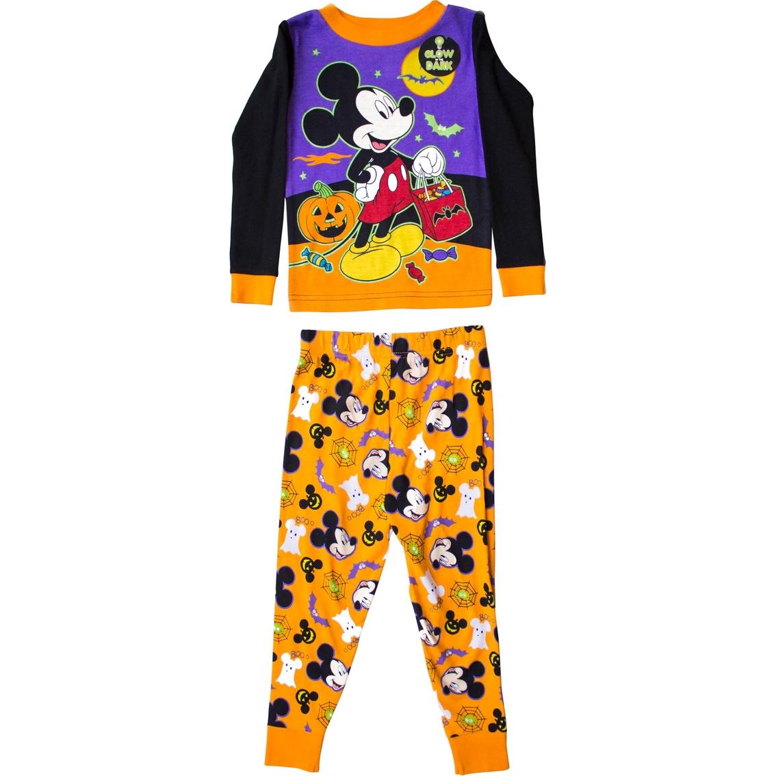 59918c57a Disney Toddler Boys Mickey Mouse Halloween 2 Pc. Pajama Set ...