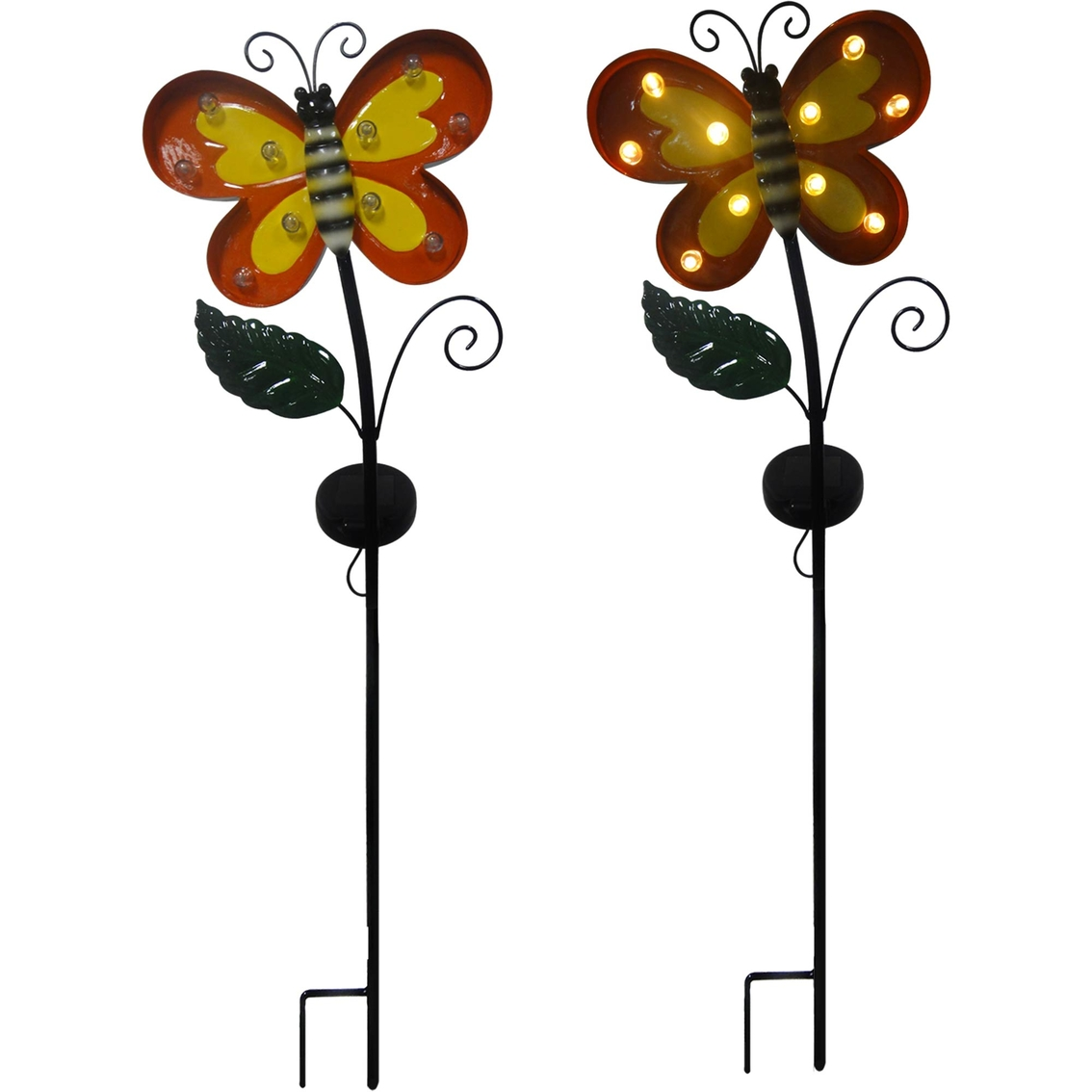 Crosslight Solar LED Butterfly Marquee Garden Stake