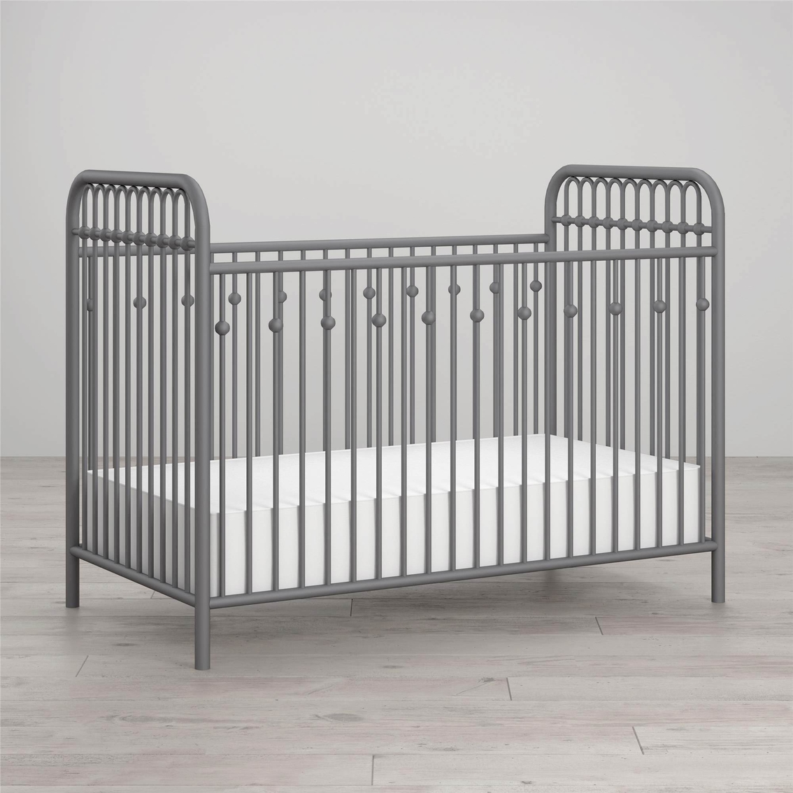 Little Seeds Monarch Hill Ivy Metal Crib | Cribs | Baby & Toys ...
