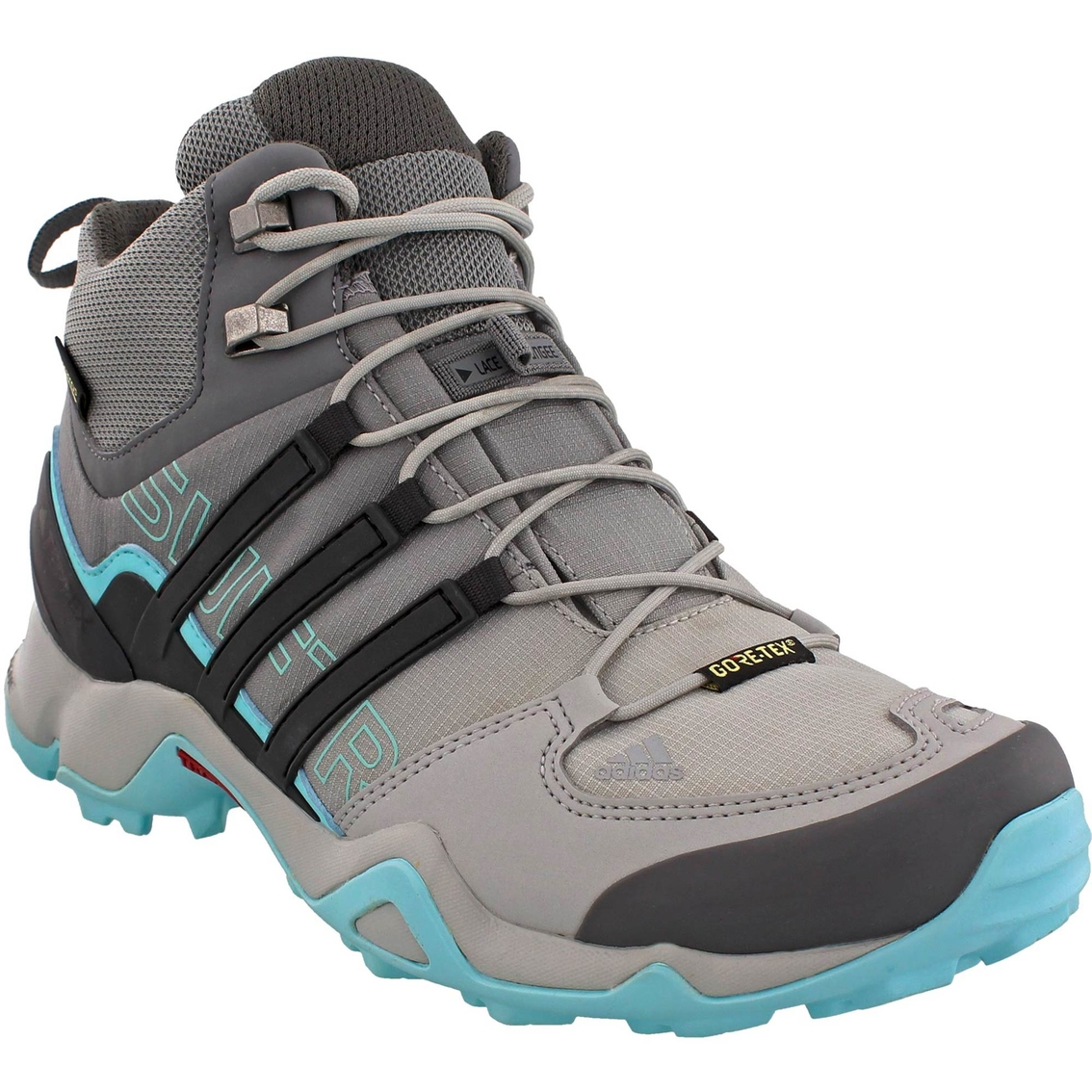 8583ae826 Adidas Outdoor Women s Terrex Swift R Mid Gtx Hiking Shoes
