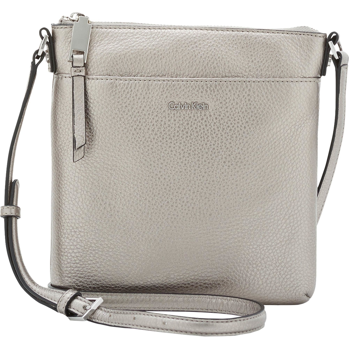 194821b7443 Calvin Klein Pebble Leather Crossbody | Crossbody Bags | Handbags ...