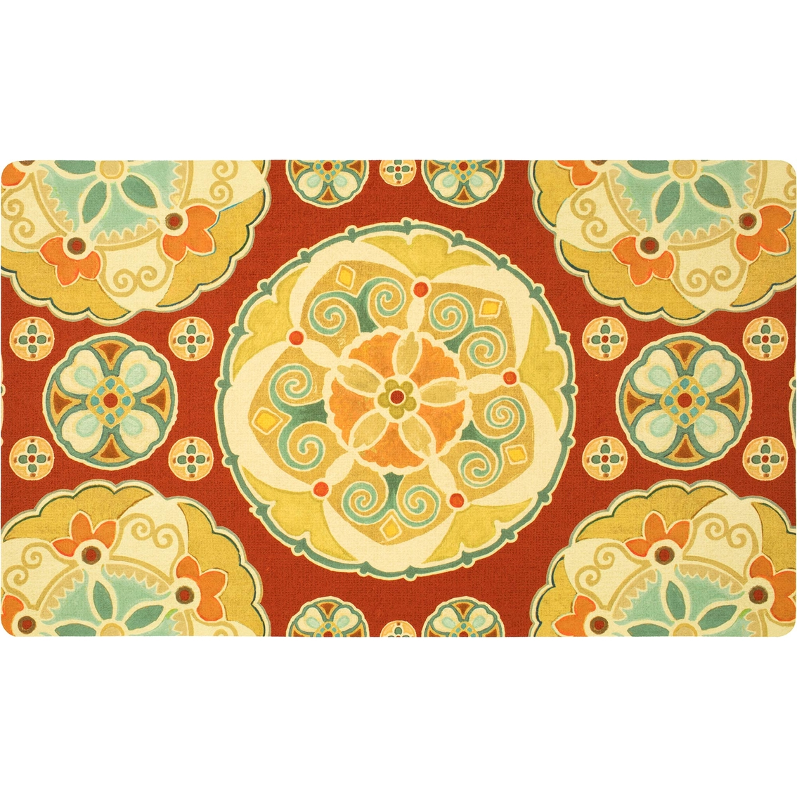 Mohawk Home Spice Route Suzani Kitchen Mat 18x30 Rugs