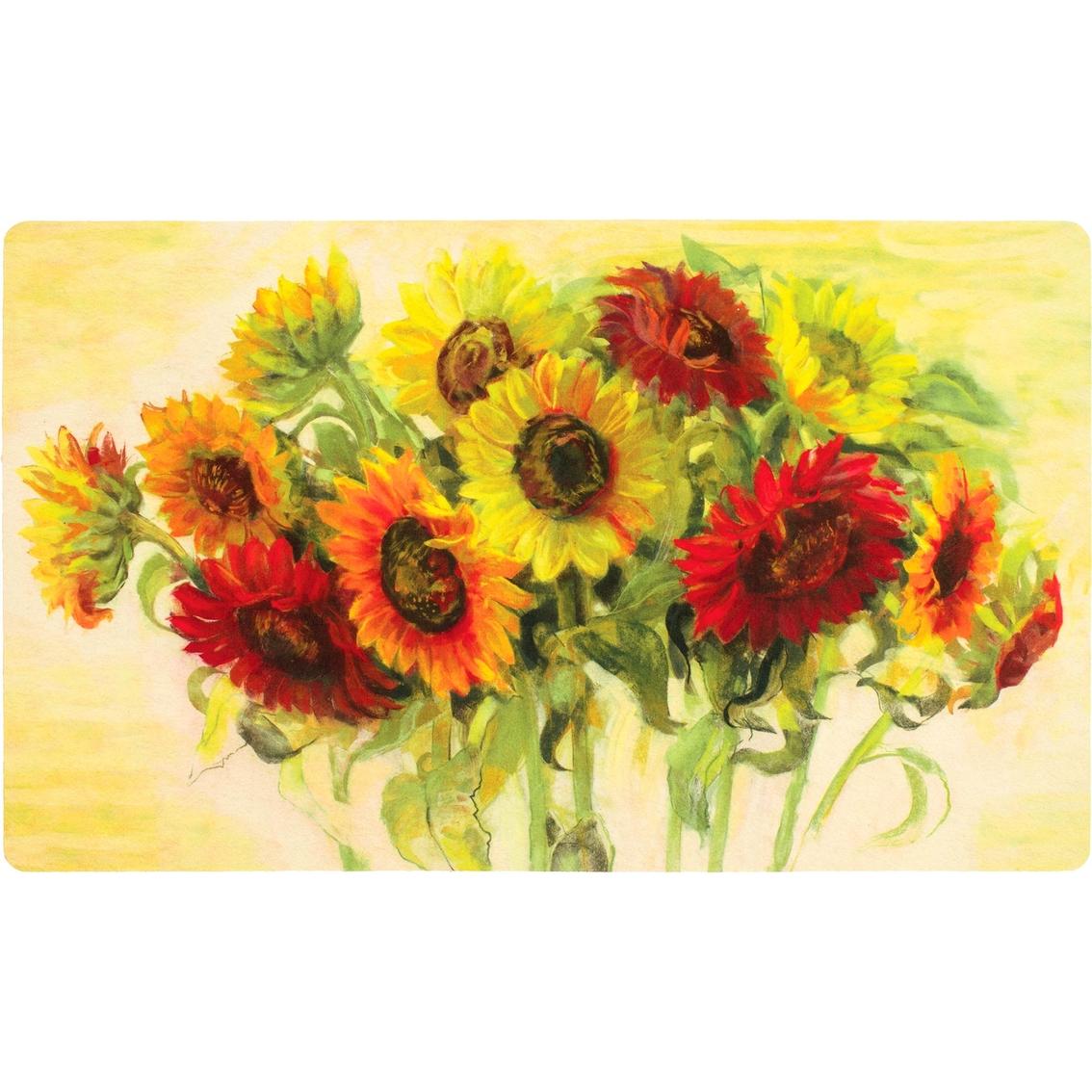 mohawk home gathering sunflowers kitchen mat 18x30 - Sunflower Kitchen