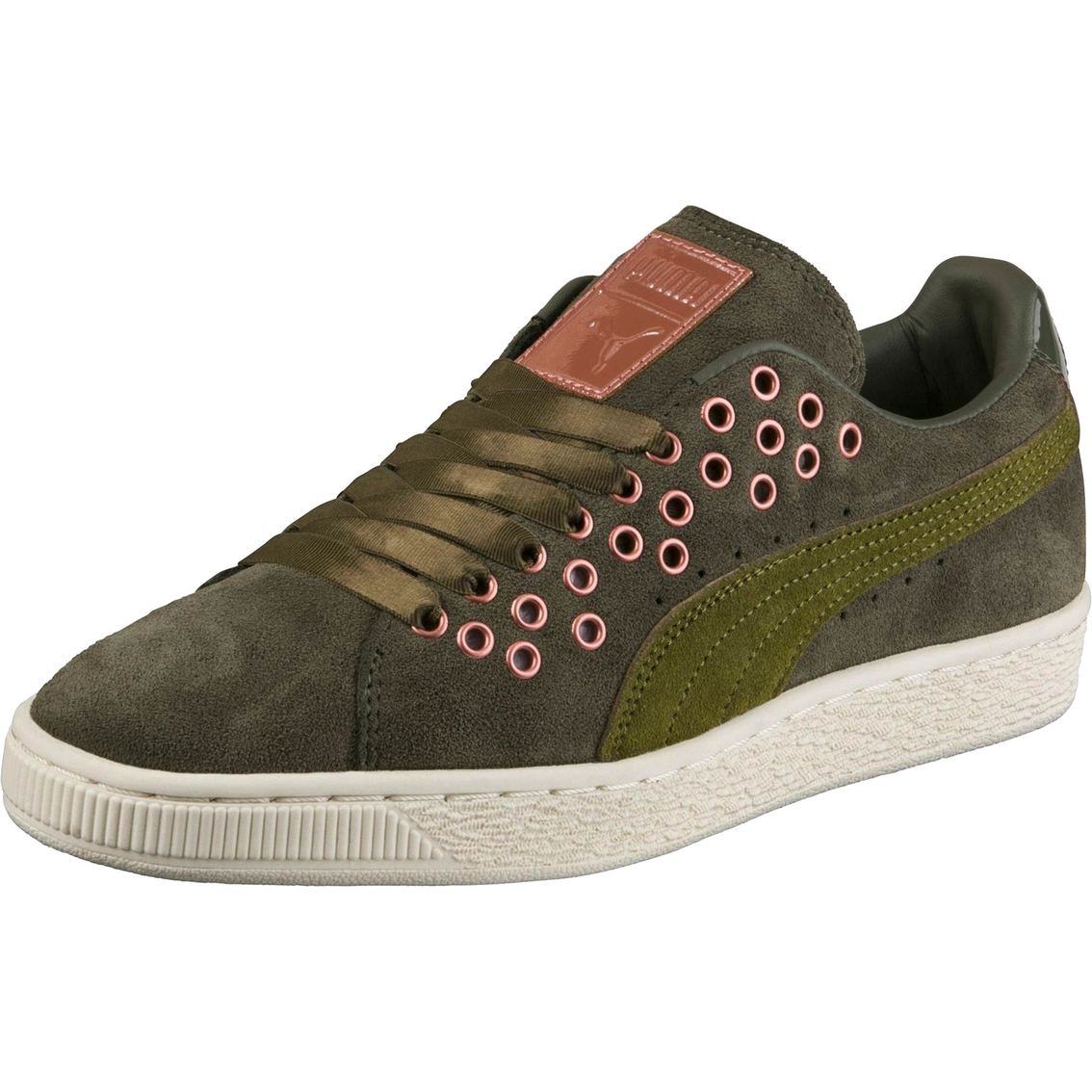 45526f8f05db75 Puma Women s Sportstyle Suede Xl Lace Vr Sneakers