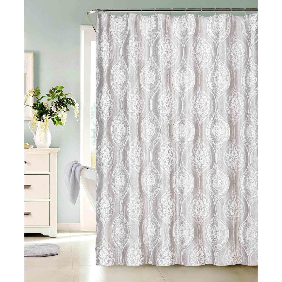 Dainty Home Monaco Shower Curtain