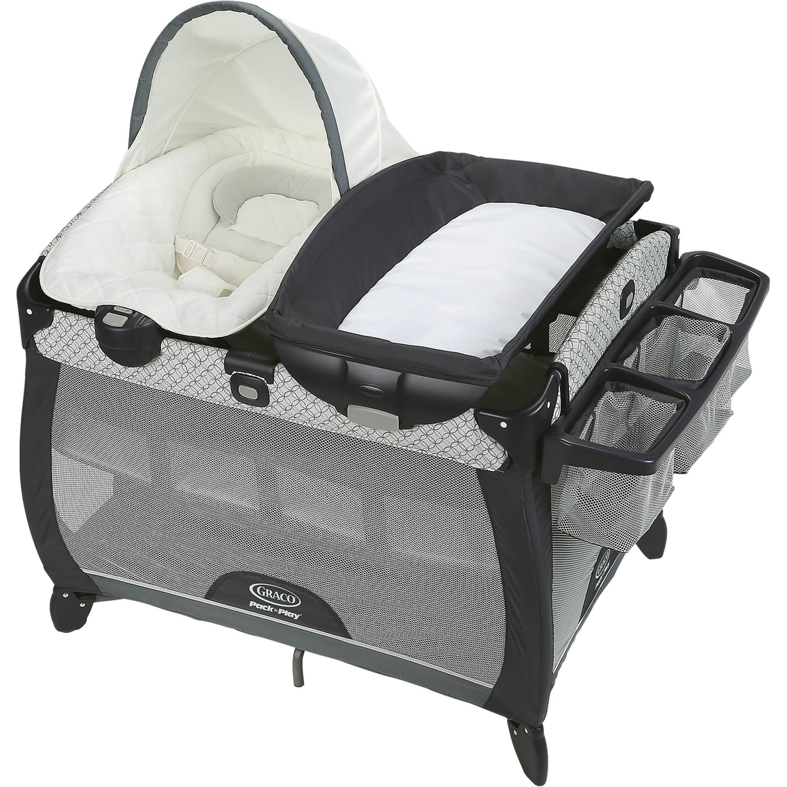 Graco Pack N Play Playard Quick Connect Portable Napper Deluxe