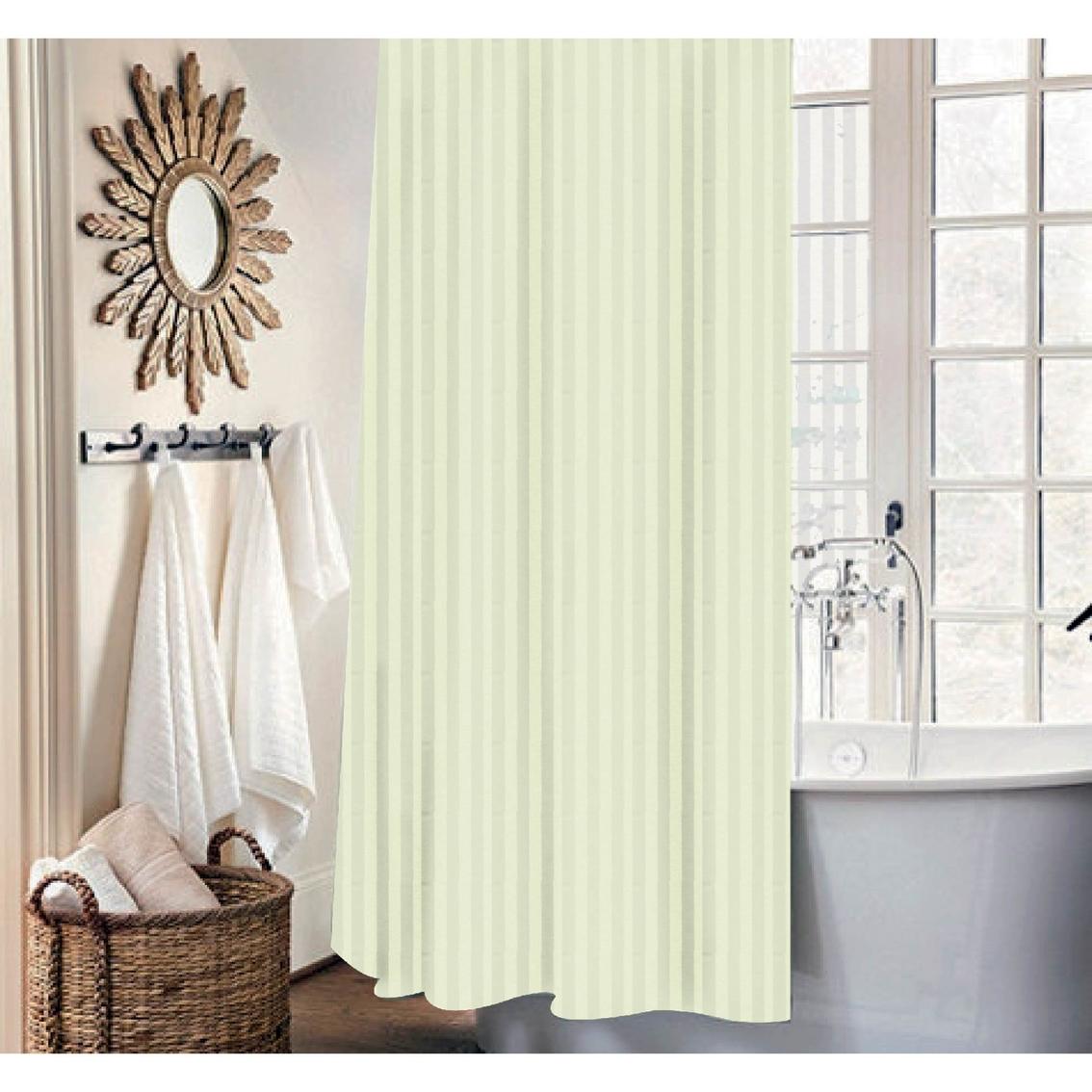 Dainty Home Mist 13 Pc Shower Curtain Set