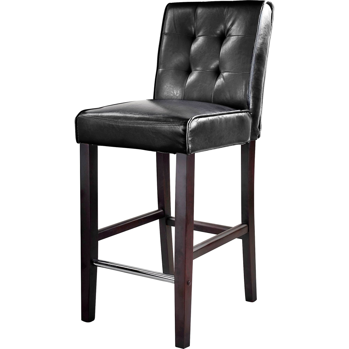 Cool Corliving Antonio Bar Height Stool In Tufted Bonded Leather Pdpeps Interior Chair Design Pdpepsorg