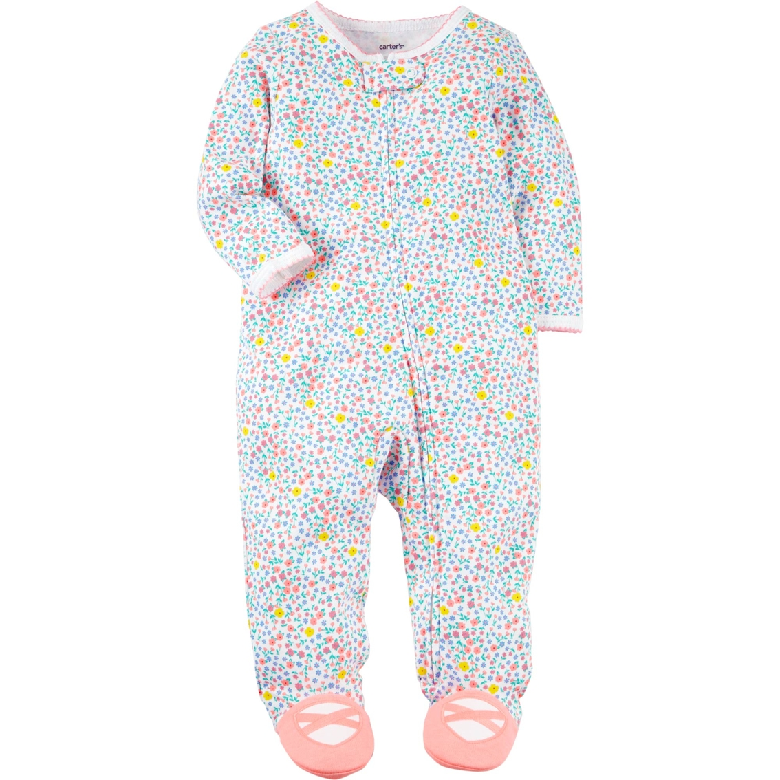 87c2e617c Carter's Infant Girls Floral Sleep And Play | Baby Girl 0-24 Months ...