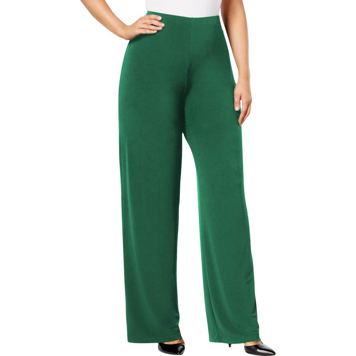 7df9ca75b31 Alfani Plus Size Wide Leg Soft Pants