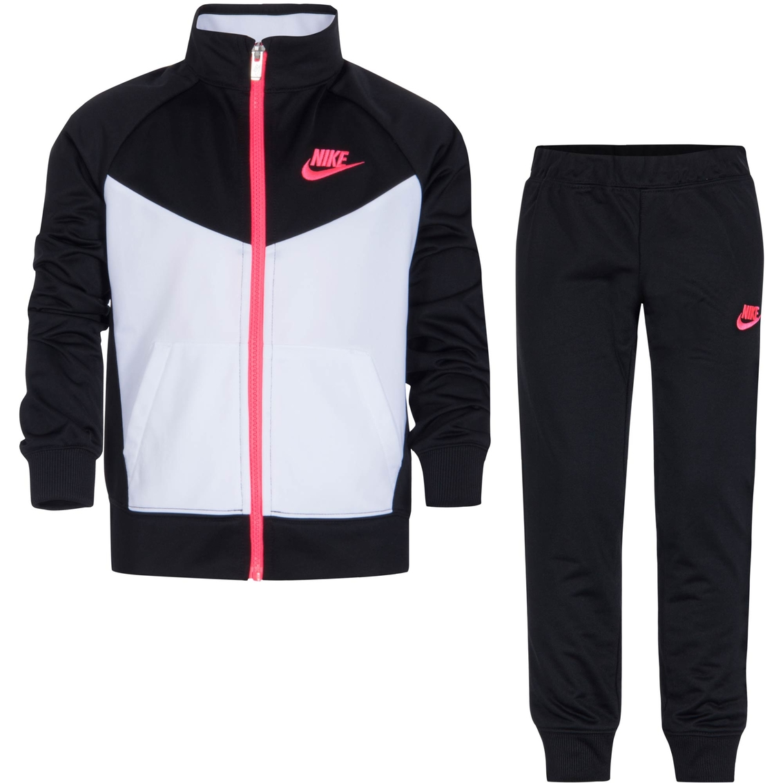 c4629558384 Nike Little Girls Futura Tricot Track Suit