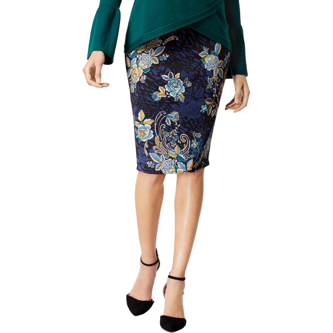 430df2ea52 Thalia Sodi Printed Pull-on Pencil Skirt | Skirts | Apparel | Shop ...