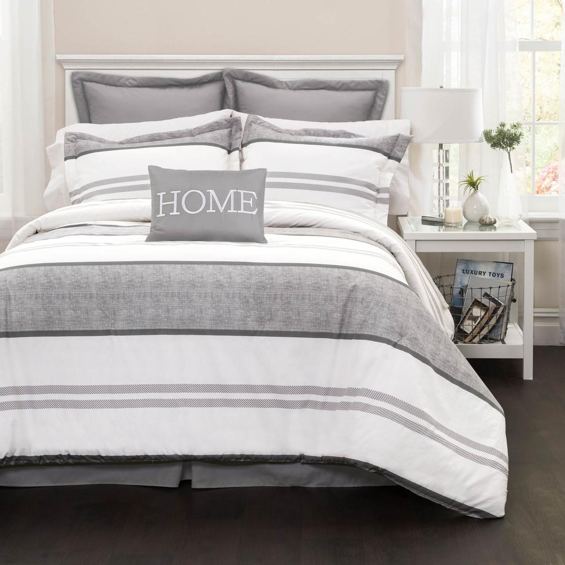 Lush Decor Special Edition Hena Stripe 7 Pc Comforter Set
