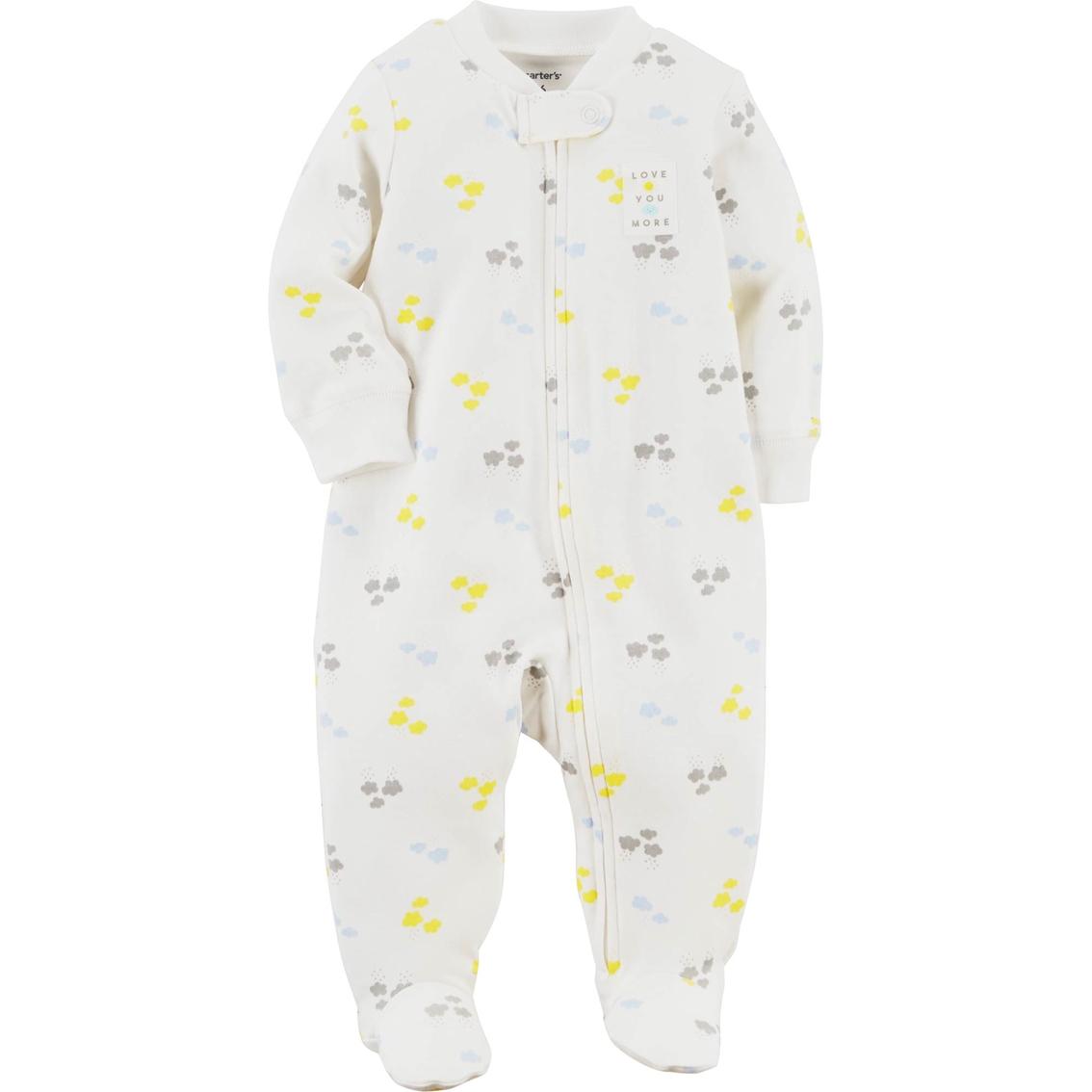 1f5a23be6 Carter s Infant Boys Cloud Zip Up Sleeper