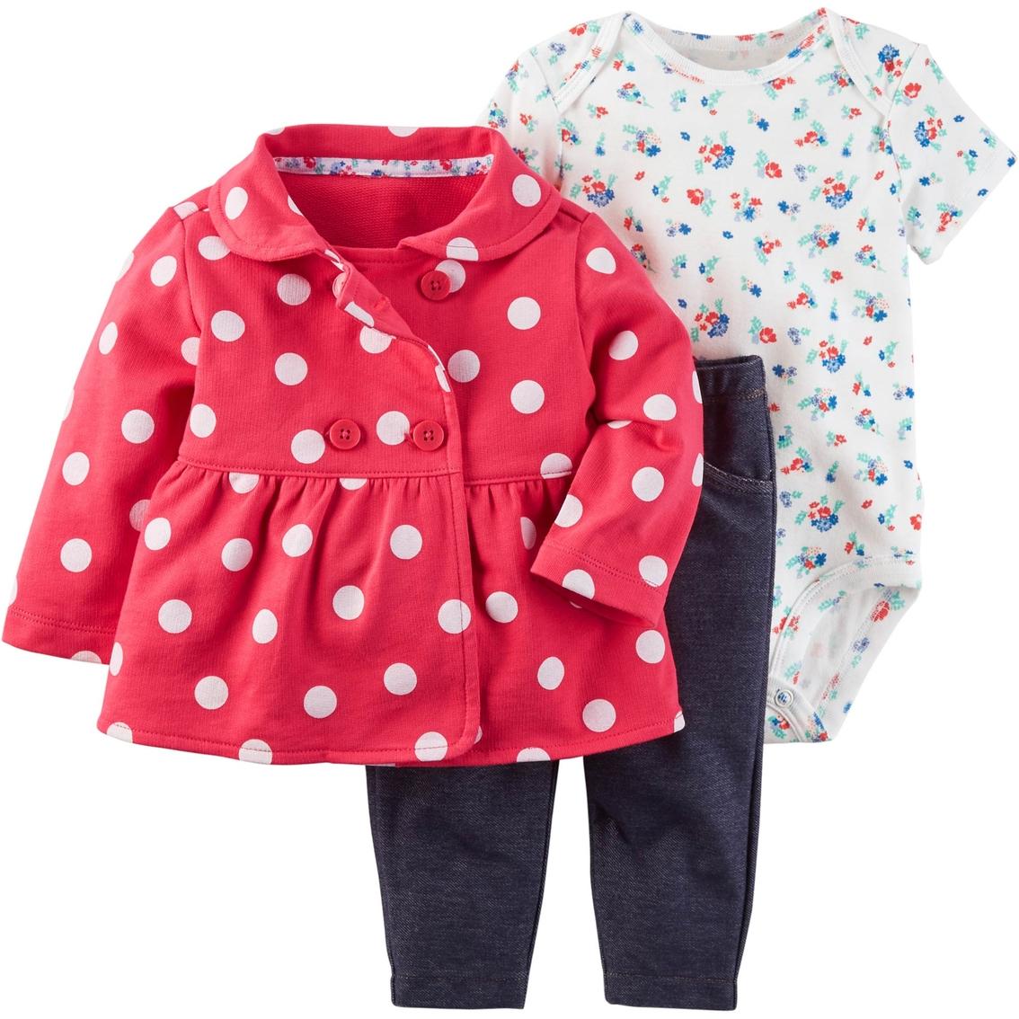 dc175329d Carter s Cardi Infant Girls 3 Pc. Little Jacket Set