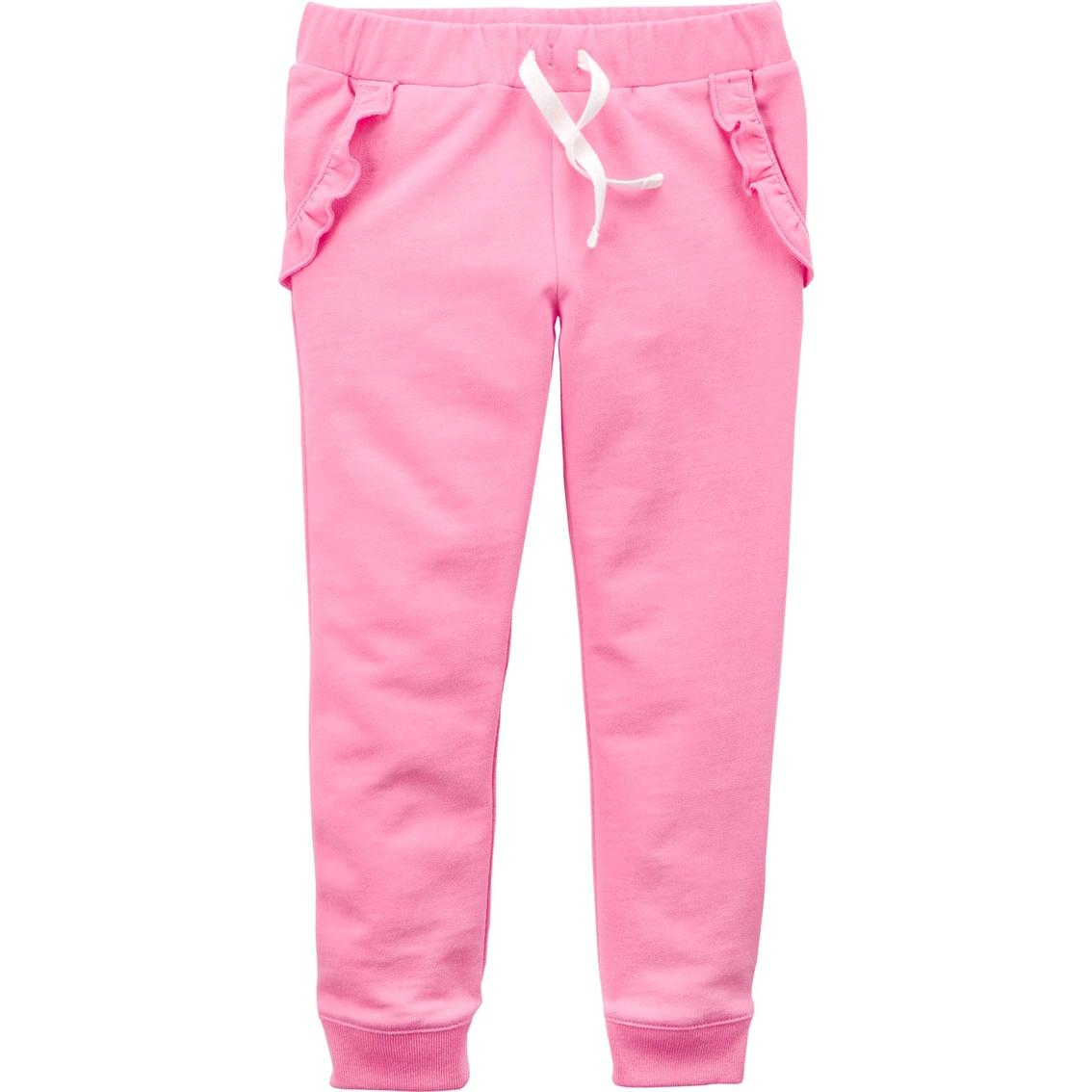 da3f50938 Carter's Toddler Girls Ruffle Pocket Jogger Pants   Toddler Girls 2t ...