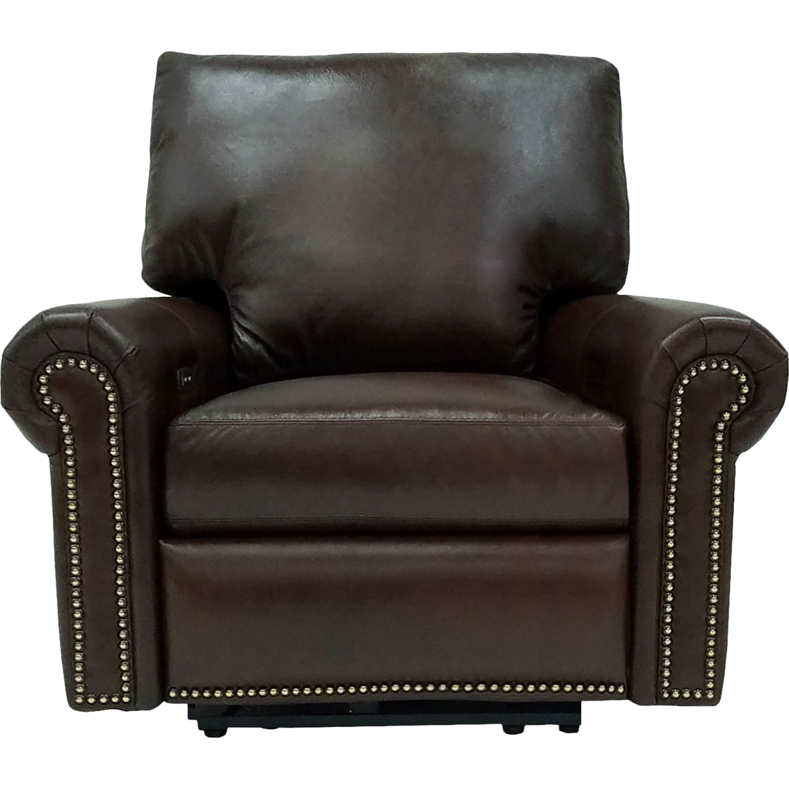 Beau Omnia Leather Fairfield Recliner
