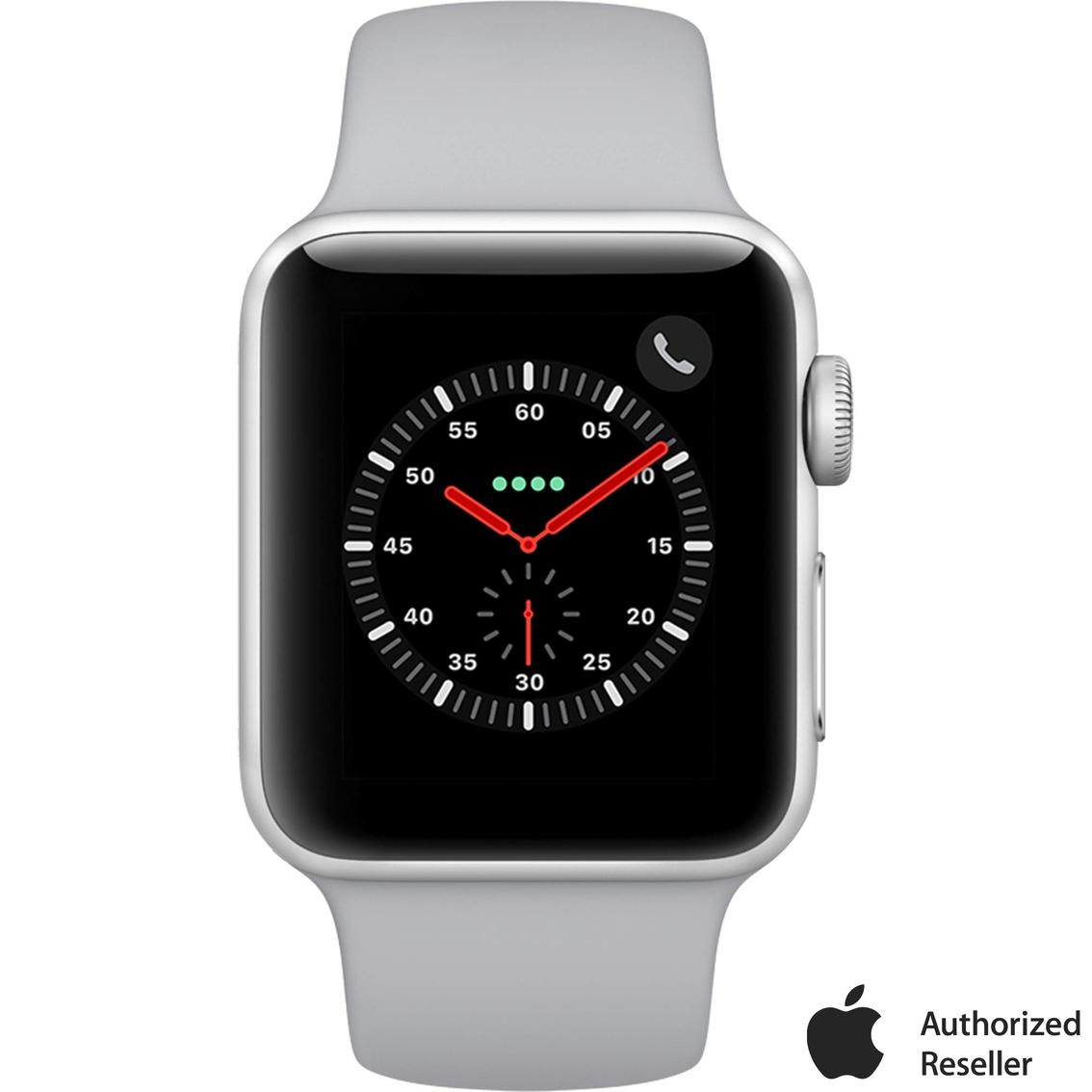 uk availability fea7d 4e5d9 Apple Watch Series 3 Gps + Cellular Silver Aluminum Case With Fog ...