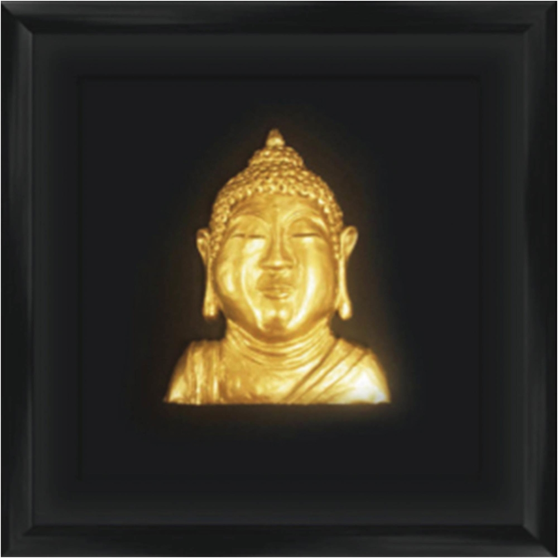 Golden Buddha Head Wall Art | Figures & People | Home & Appliances ...