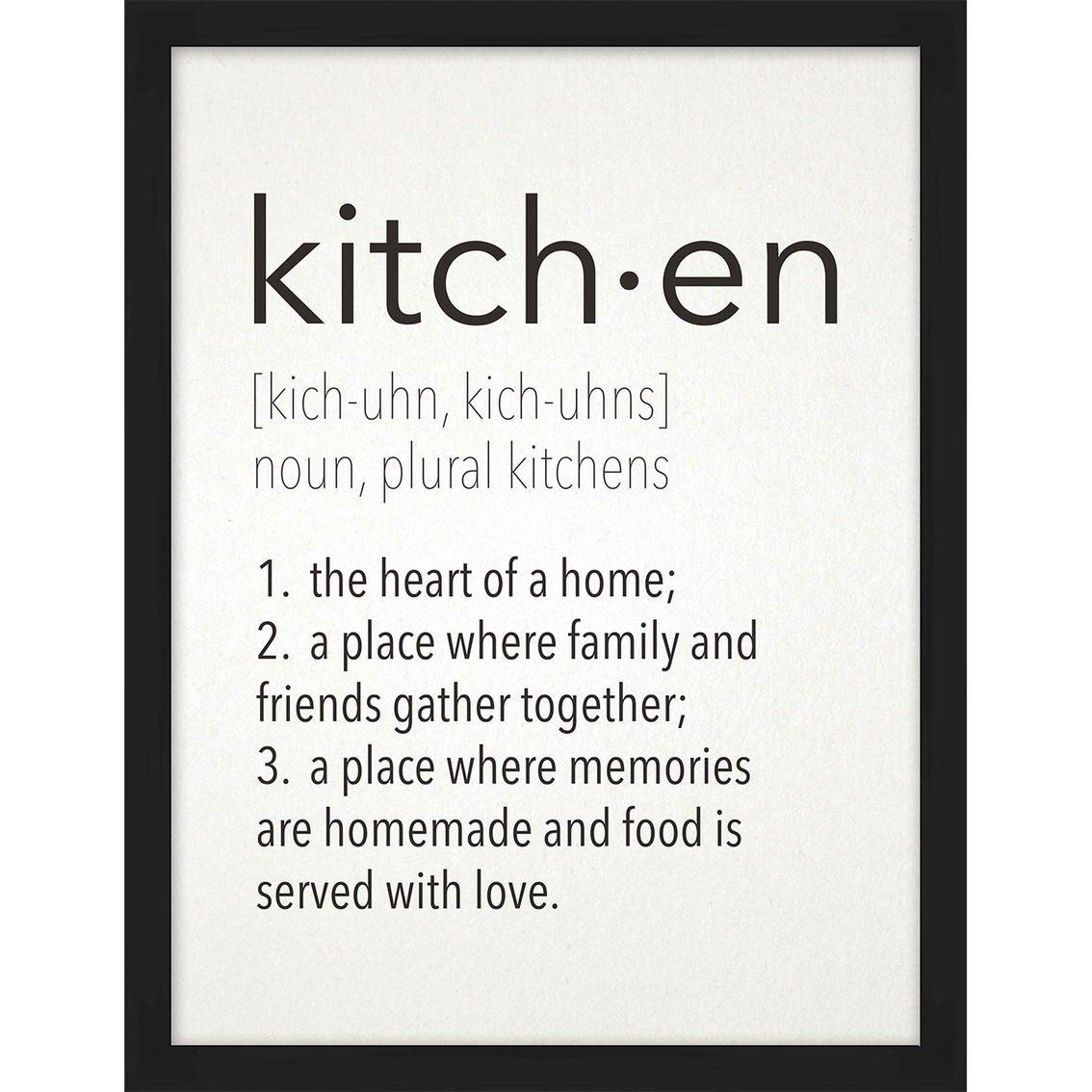 Kitchen Meaning Wall Art Kitchen Home Appliances Shop The