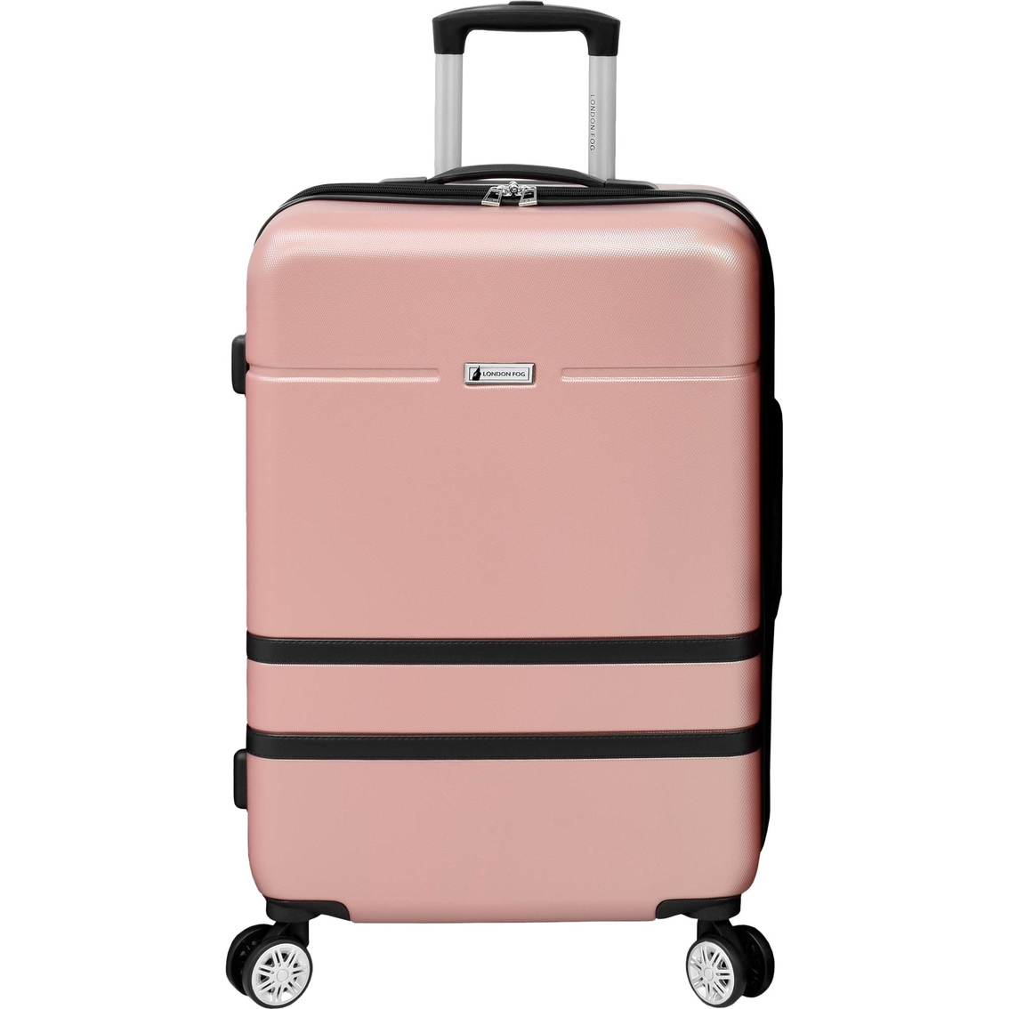London Fog Weybridge Expandable Hardside Spinner Suitcase Luggage