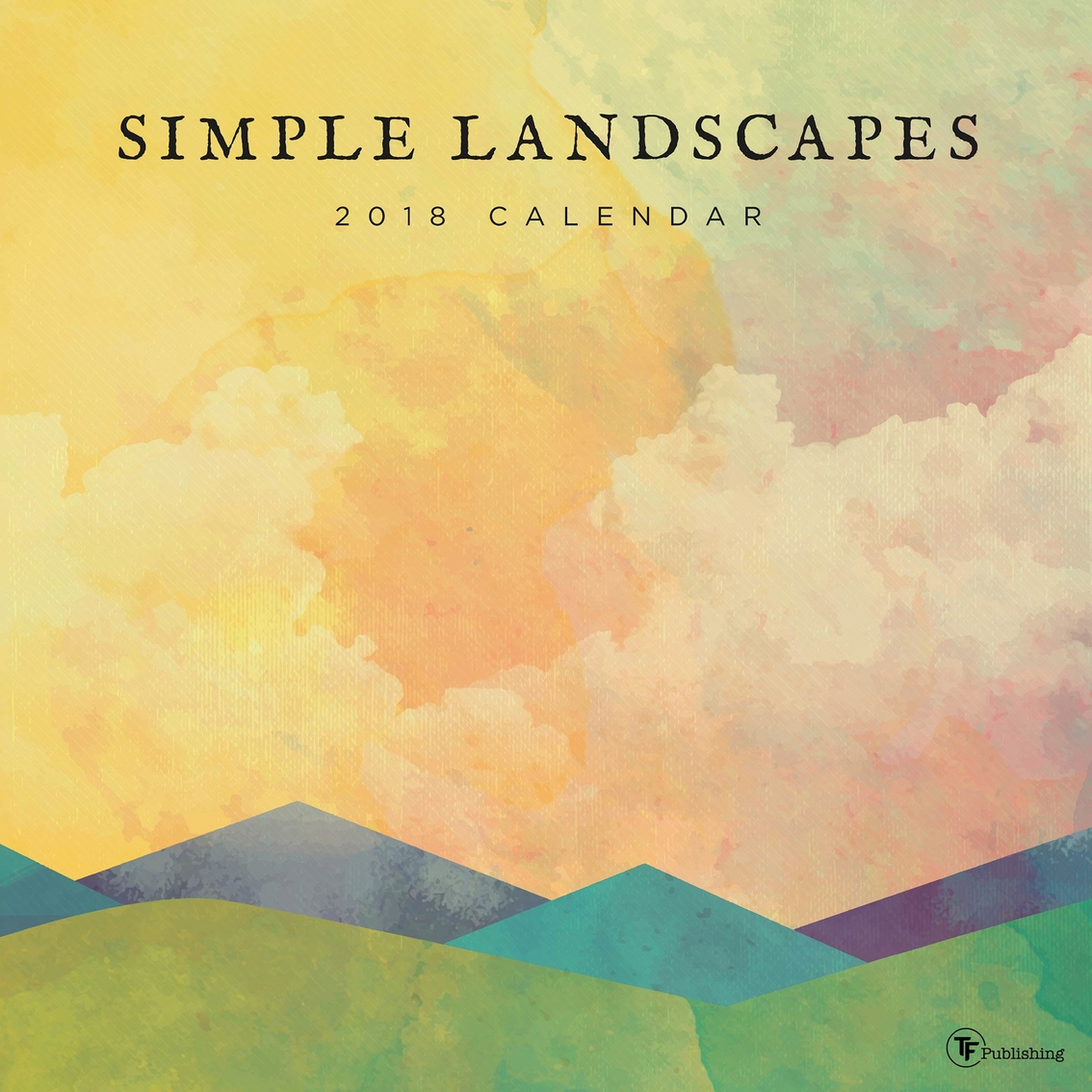 Tf Publishing 2018 Simple Landscapes Wall Calendar | Calendars ...