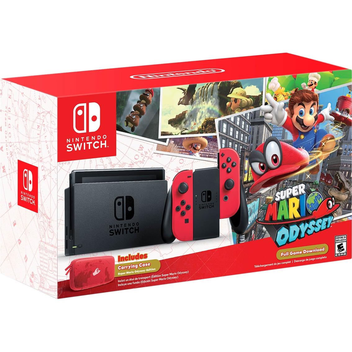 Nintendo Switch Super Mario Odyssey Edition Hardware