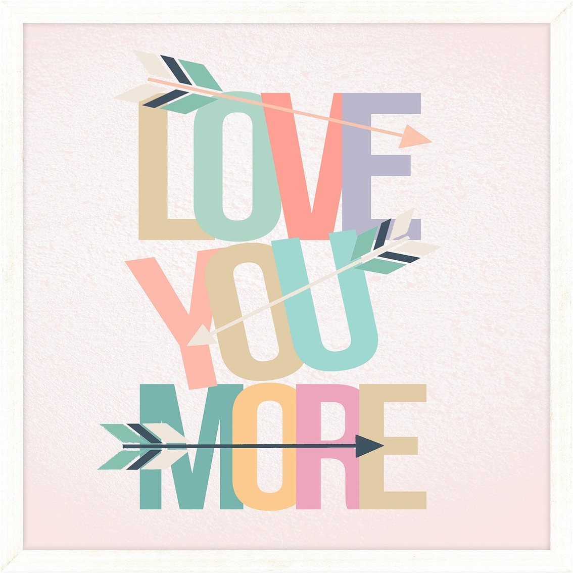 Ptm Images Love You More Decorative Frame Art Sentiments Sayings