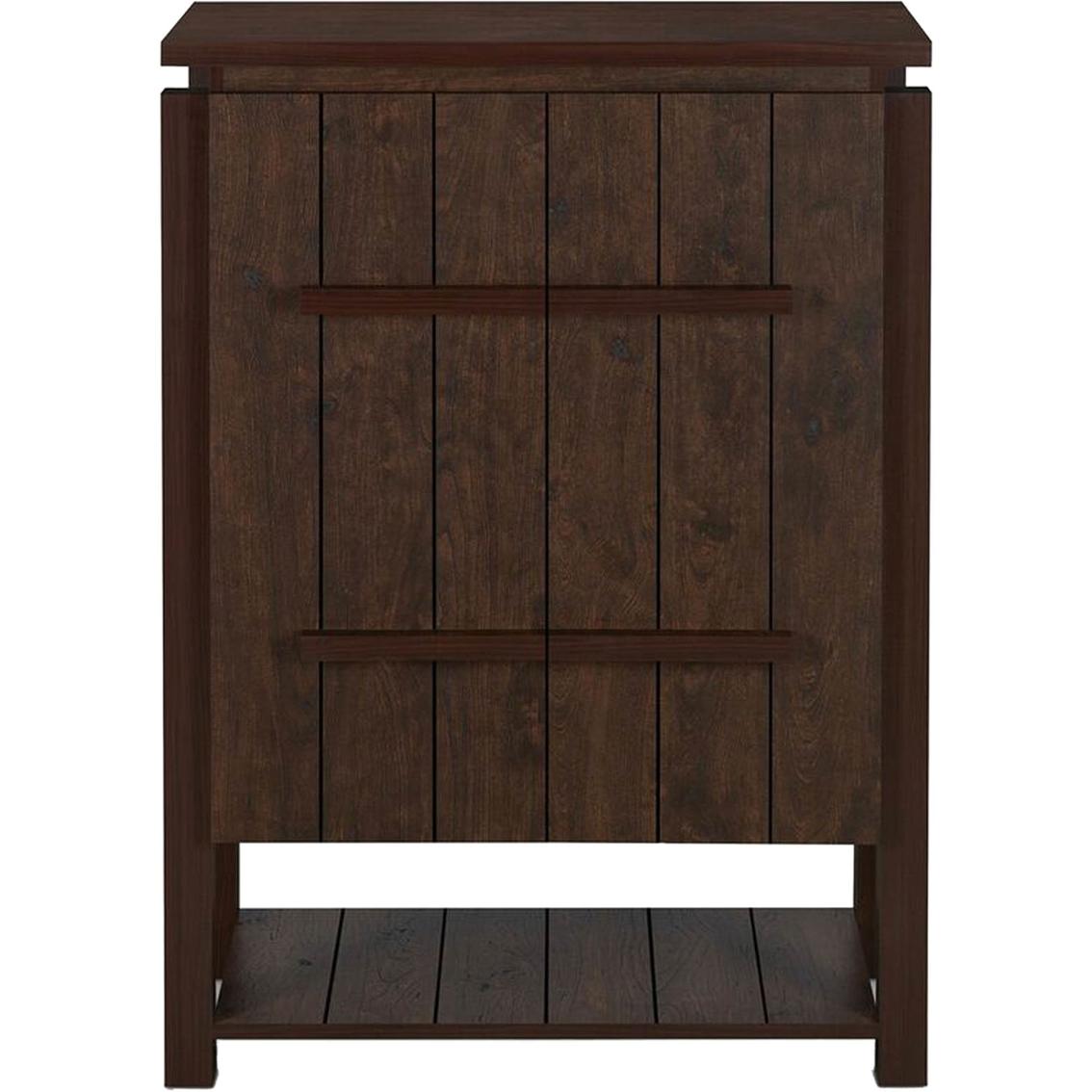 Furniture Of America Adriel Rustic Look 5 Shelf Shoe Storage