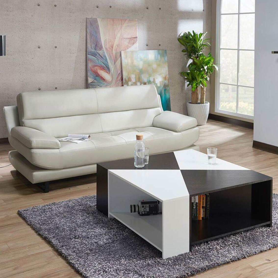 Furniture Of America Marta Two Tone Modular Coffee Table Living