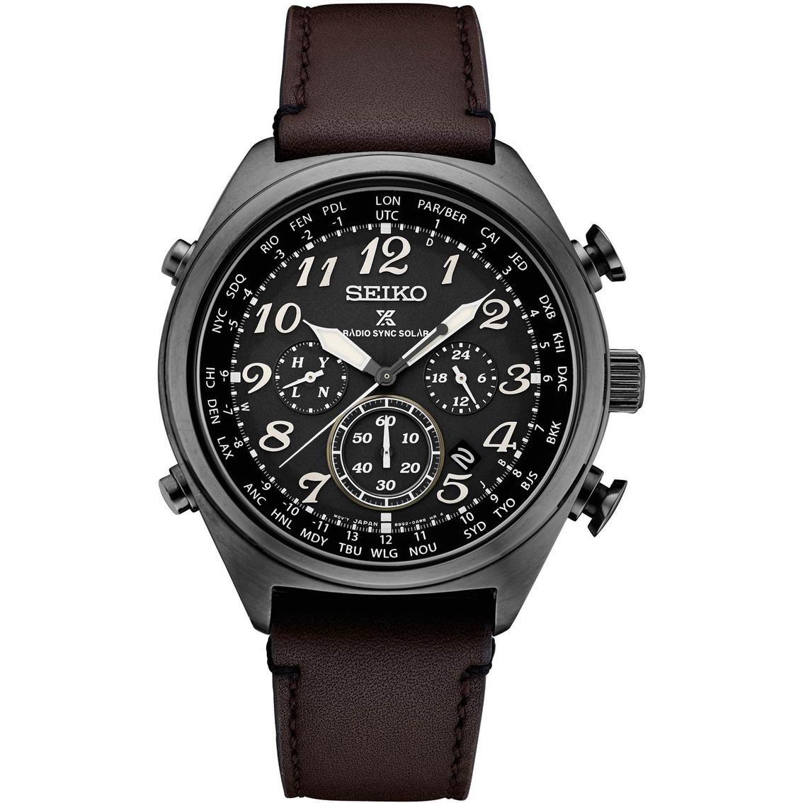 Win A Seiko Prospex Radiosync Solar World Time Chronograph Watch photo