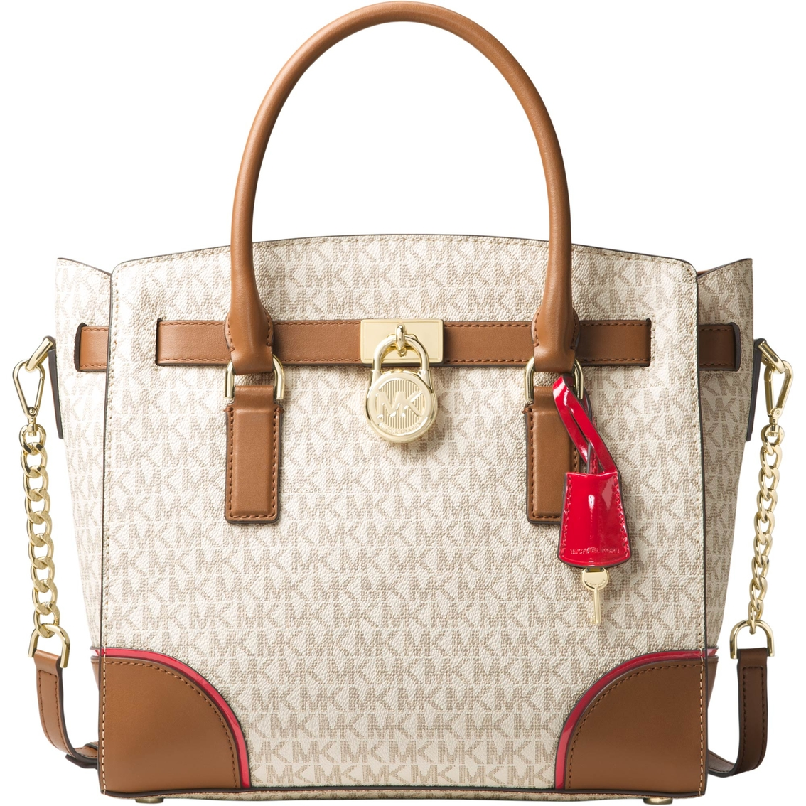 michael kors hamilton large east west satchel handbags shop the rh shopmyexchange com