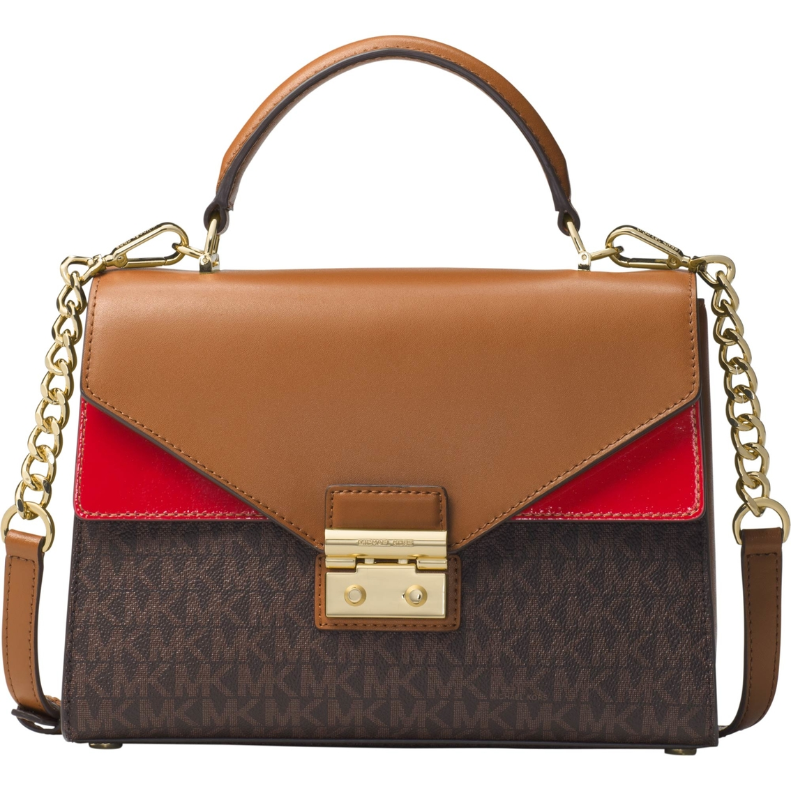 2a1000fc0f1395 Michael Kors Sloan Medium Double Flap Top Handle Satchel | Handbags ...