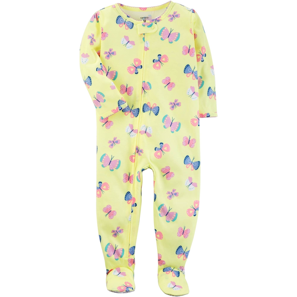 47182b49f Carter's Infant Girls Bunny 1 Pc. Footed Pajamas | Baby Girl 0-24 ...