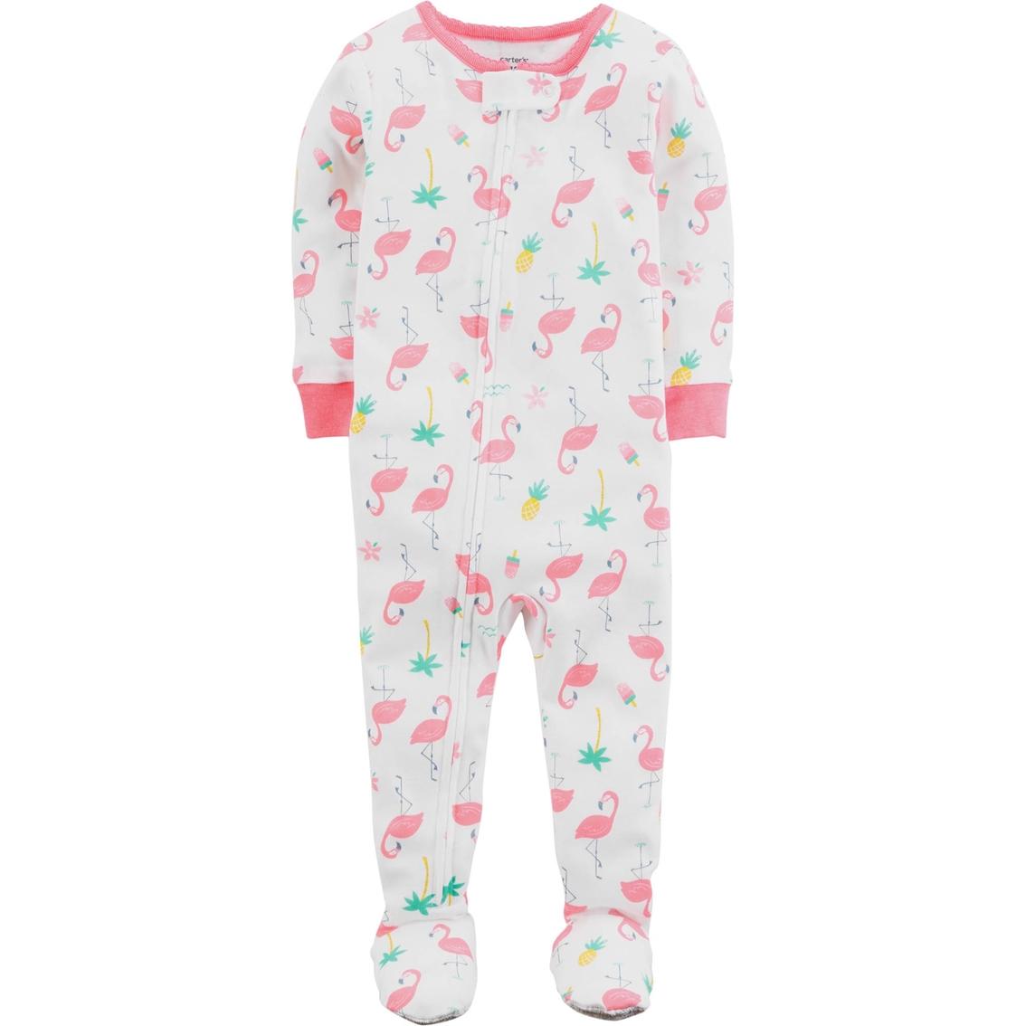 4b16d25ec8ec Carter s Infant Girls 1 Pc. Snug Fit Flamingo Pajamas