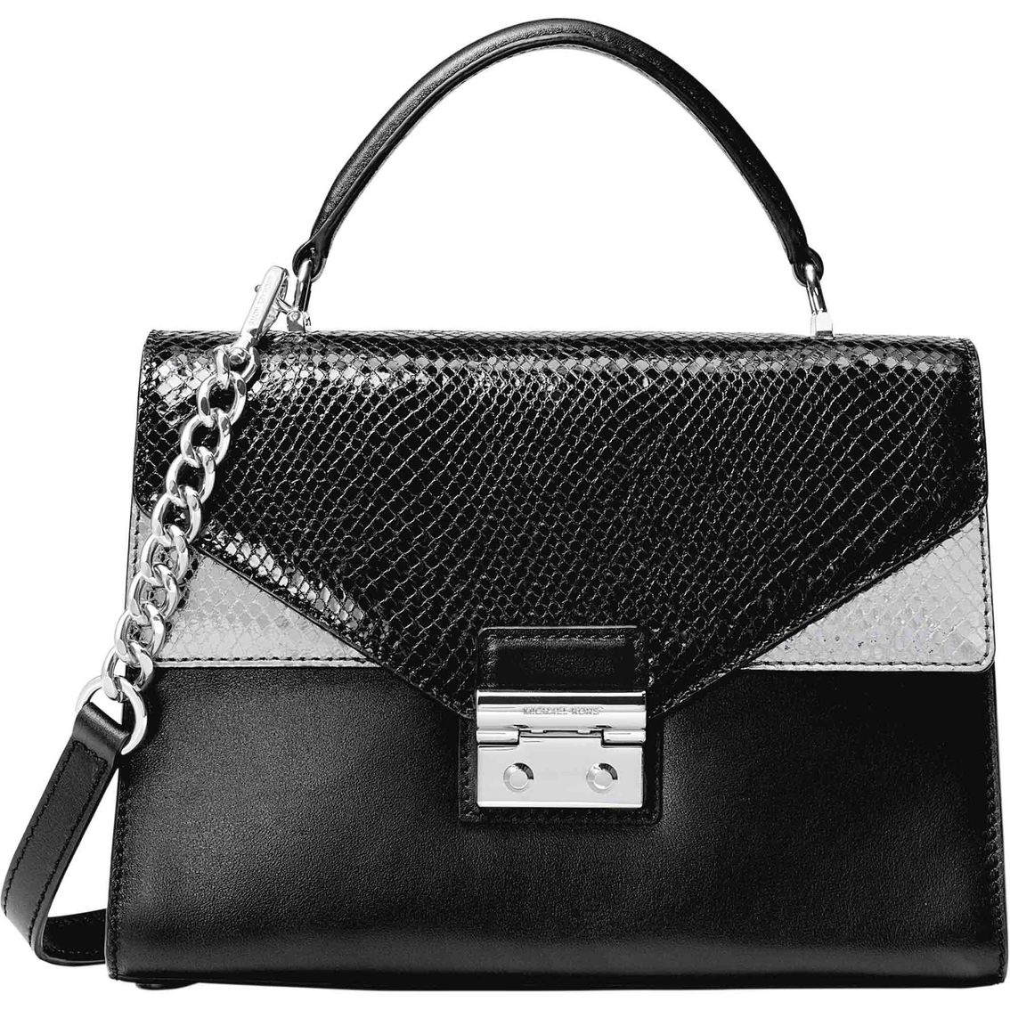 a32c67977 Michael Kors Sloan Medium Double Flap Top Handle Satchel   Handbags ...