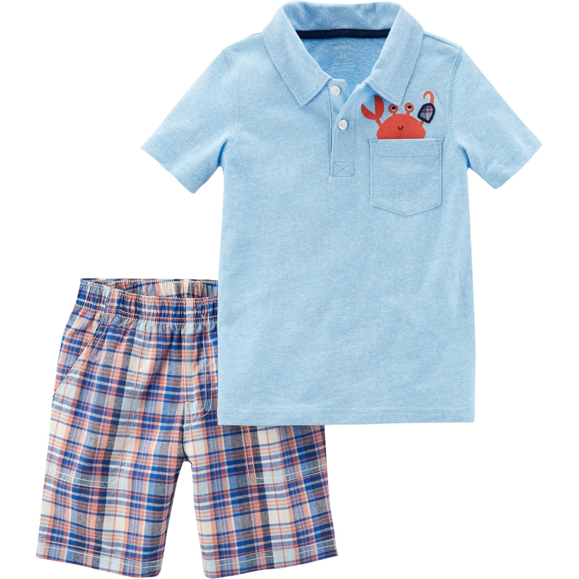 - Blue Carters Baby Boys 2 Piece Shorts Set 24 Months Baby