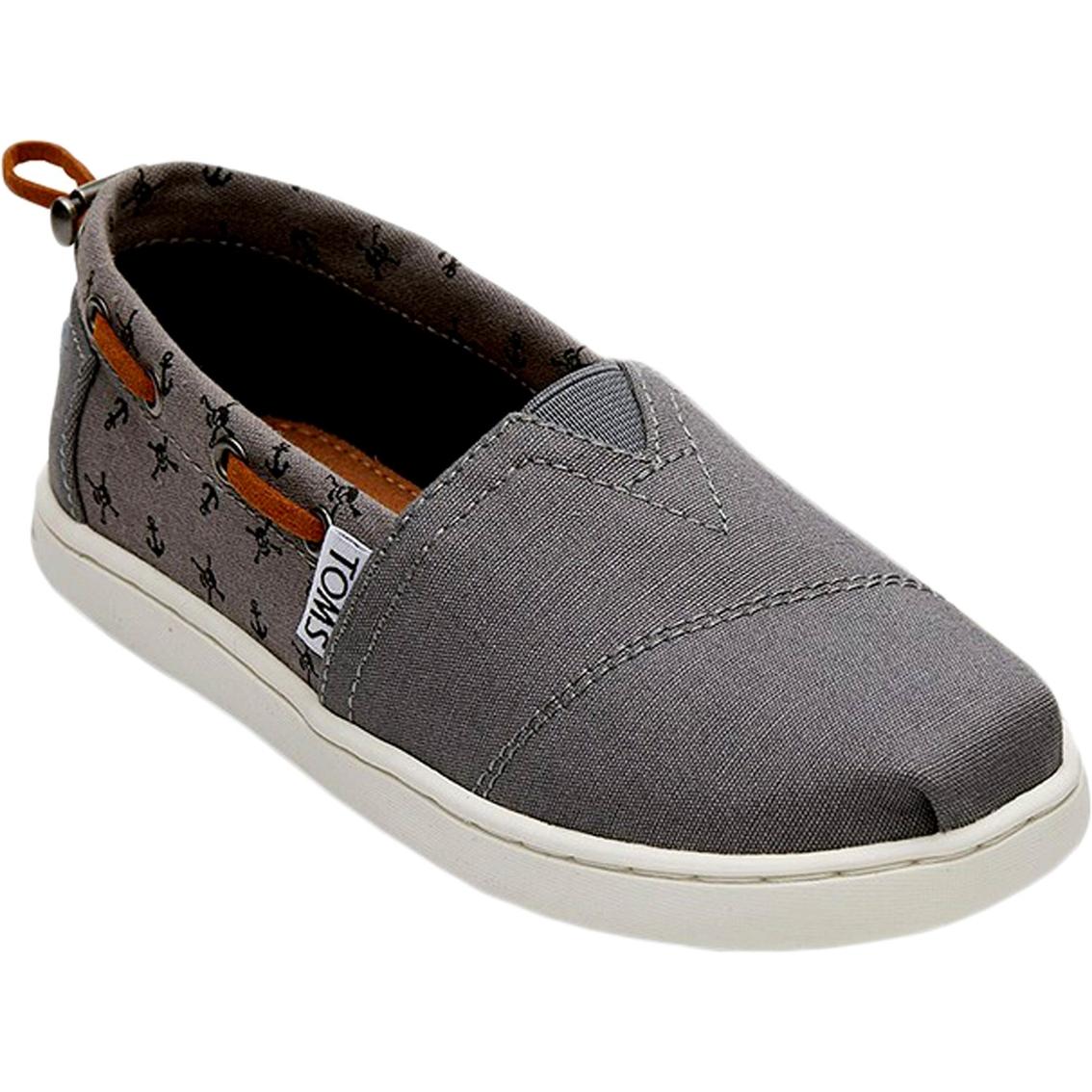 3b73d72be15 Toms Boys Bimini Skull Slip On Shoes
