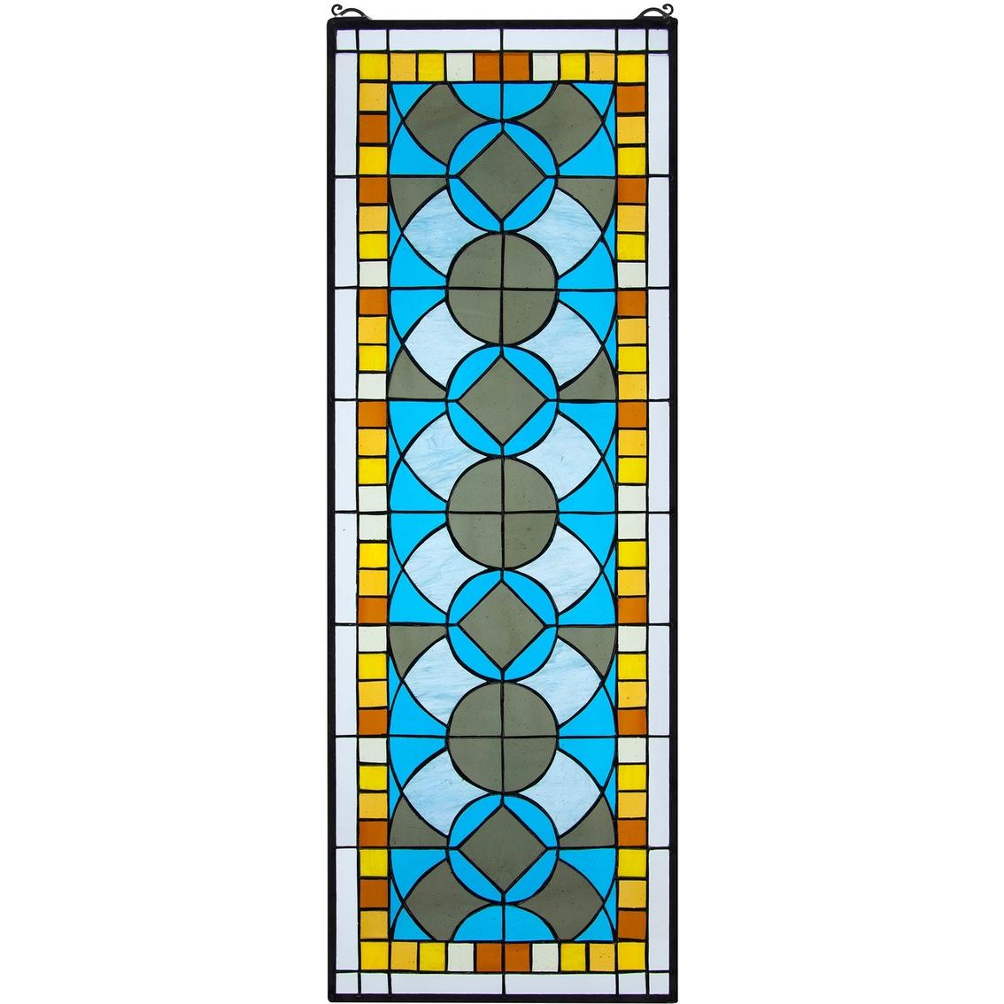 Design Toscano Boundless Rhythm Tiffany Style Stained Glass Window ...