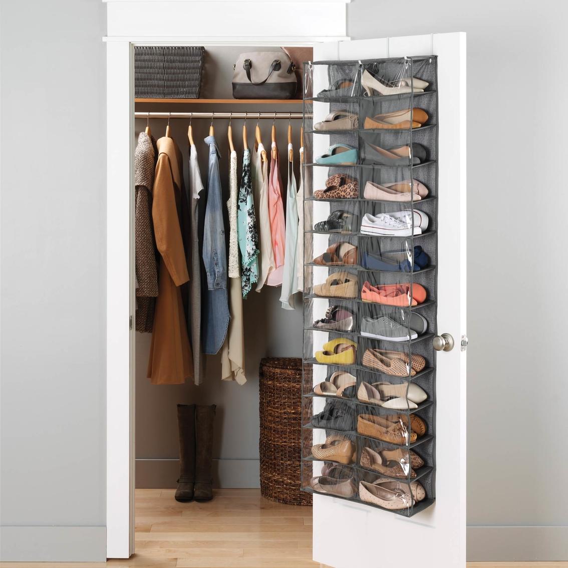 Whitmor Over The Door Shoe Shelves Closet Organization Home