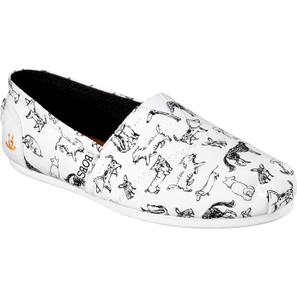 544b7db9dd68 Bobs Women's Plush Dream Doodle Dog Slip On Shoes | Casuals | Shoes ...