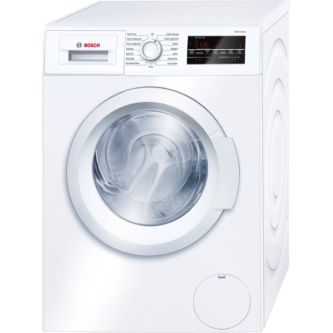 Bosch 300 Series 2.2 Cu. Ft. Front Loading 24 In. Compact