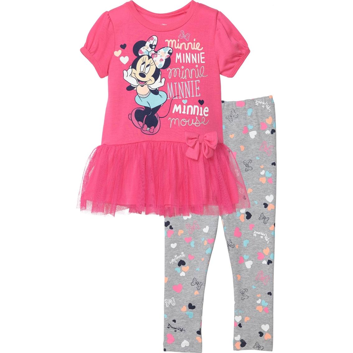 d13cfd67e5d60 Disney Toddler Girls Tulle Leggings Set, Minnie | Toddler Girls 2t ...